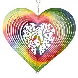Suspension Rainbow Lovebirds Decoration extérieur CIM