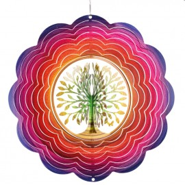 Suspension Rainbow tree of Life  3DDecoration extérieur CIM