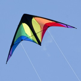 Cerf-volant pilotable Power Hawk Rainbow - CIM