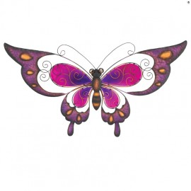 Décoration murale Papillon rose BUTTERFLY PURPLE Regal Art & Gift