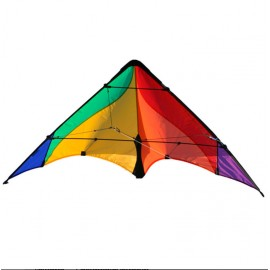 cerf-volant pilotable Delta basic rainbow Elliot