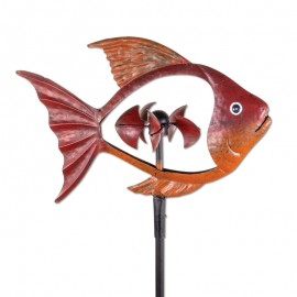 Eolienne Metal poisson...