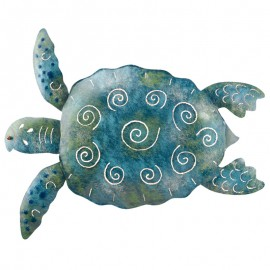 Décoration murale Tortue bleue TURTLE Regal Art and Gift