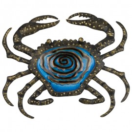 Décoration murale Crabe bronze Regal Art and Gift